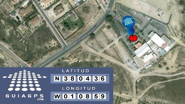 coordenadas GPS El Portón de la Condesa