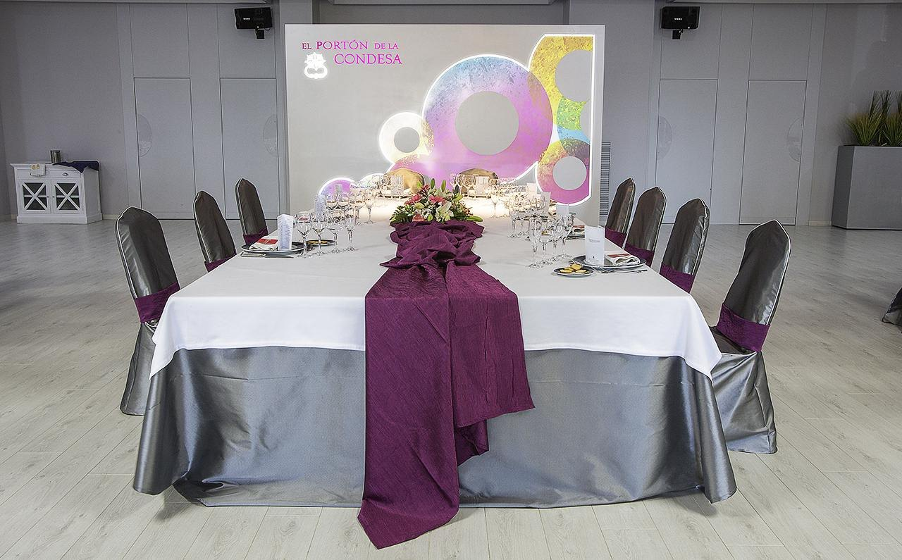 decoracion salon boda