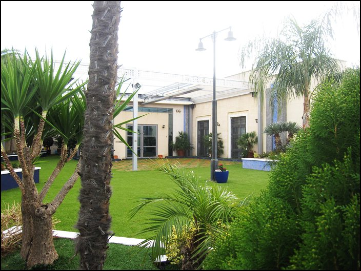 Salon de celebraciones en Murcia - Exteriores