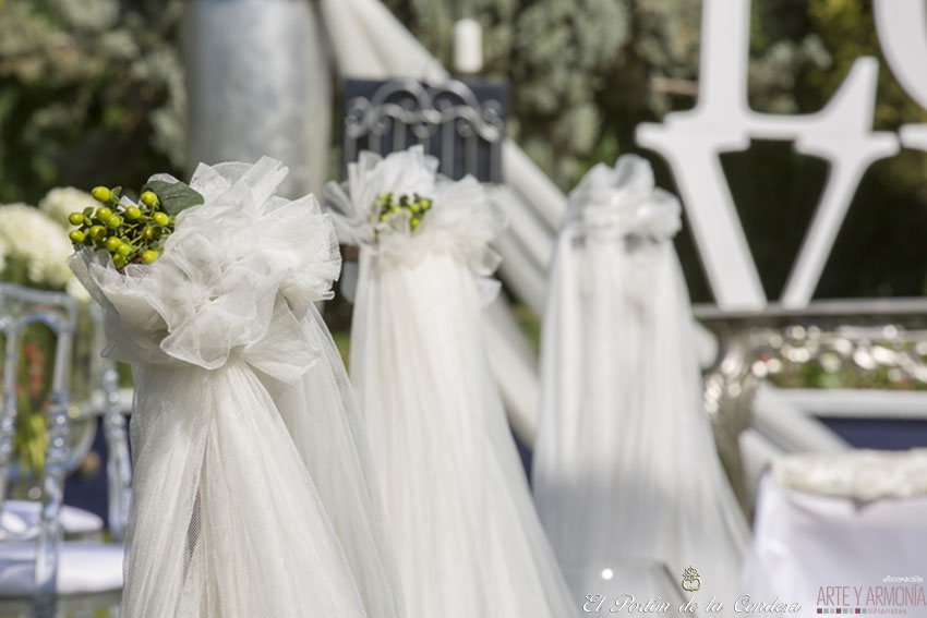boda civil murcia - decoración - el portón de la condesa salones de