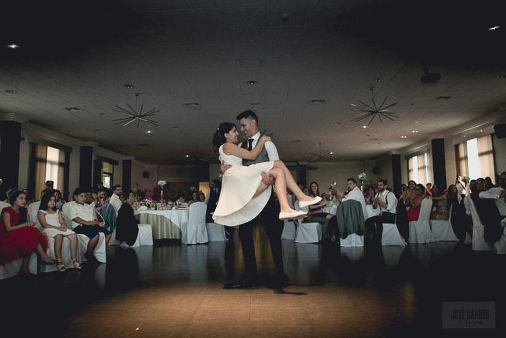 Coreografía bodas murcia salones Porton Condesa