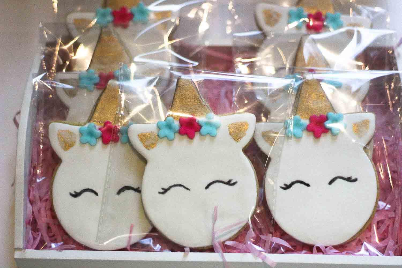 comuniones temáticas unicornios mesas dulces